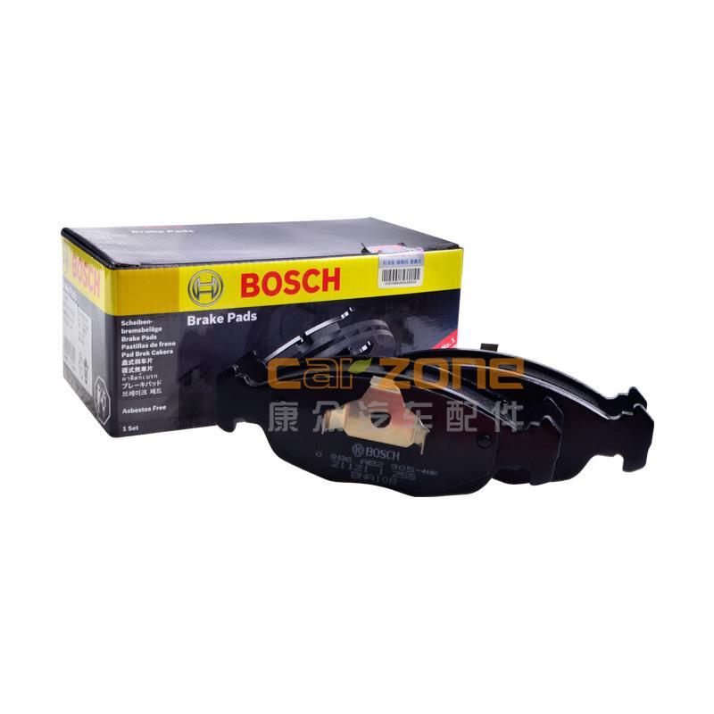 博世/BOSCH,前刹车片 有消音片,雪佛兰赛欧1.6