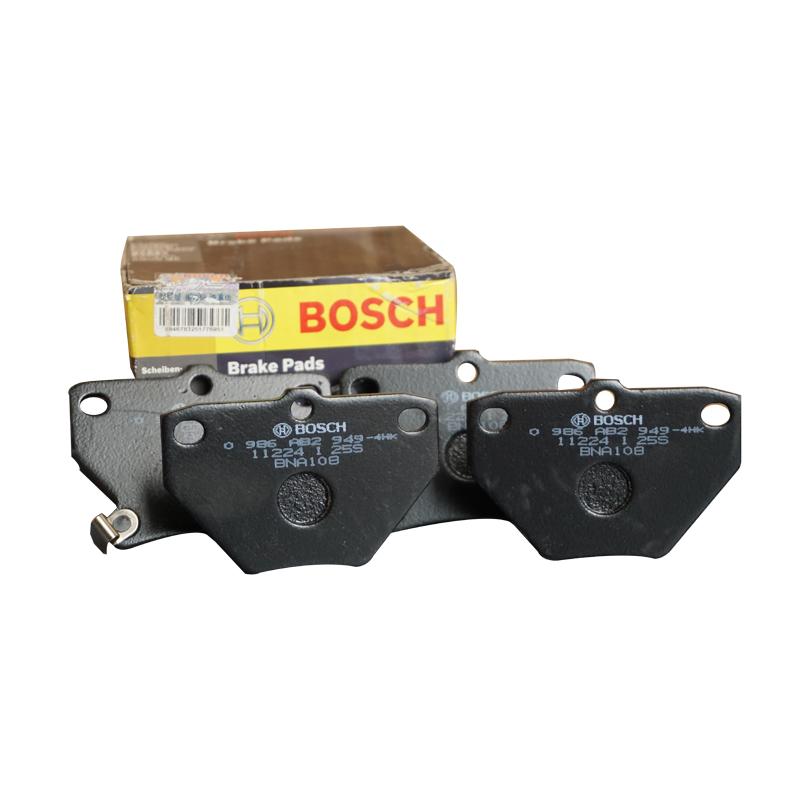 博世/BOSCH,后刹车片 有消音片,丰田威驰1.3,丰田花冠1.8