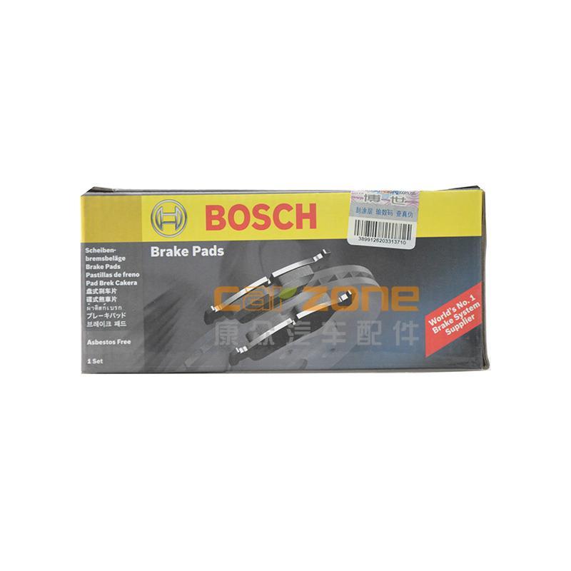 博世/BOSCH,后剎車片 有消音片,雪佛蘭景程1.8