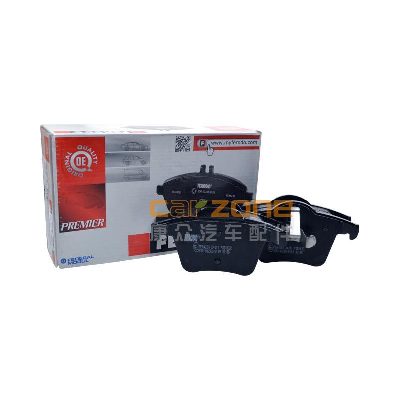 菲羅多/FERODO,后剎車片,沃爾沃XC902.5T,沃爾沃XC902.9T,沃爾沃XC904.4