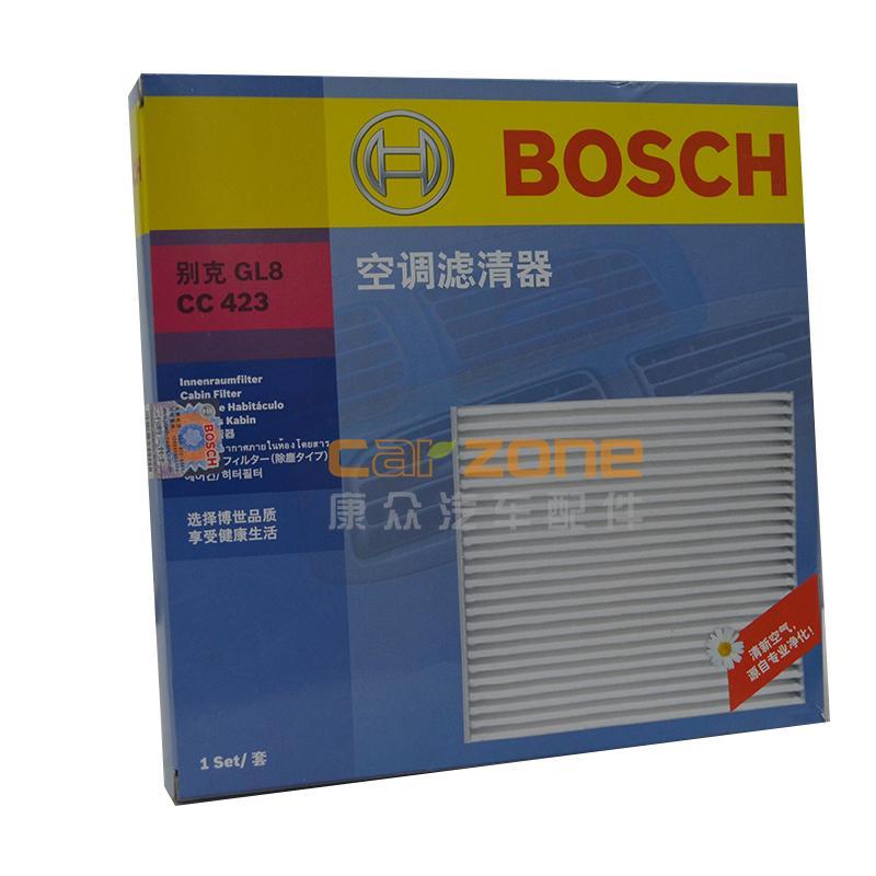 博世/BOSCH,單效空調濾,別克GL82.5,別克GL83.0,別克君威2.5,別克君越3.0