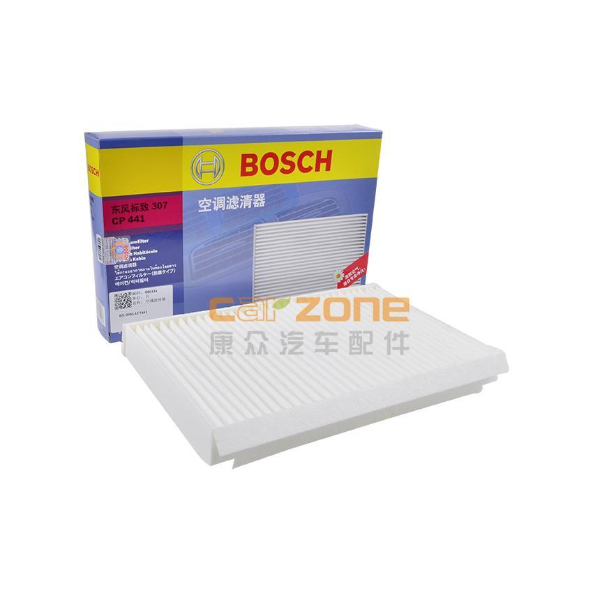 博世/BOSCH,單效空調濾,標致3081.6,標致3081.6T,標致4081.6,標致RCZ1.6T,雪鐵龍世嘉1.6