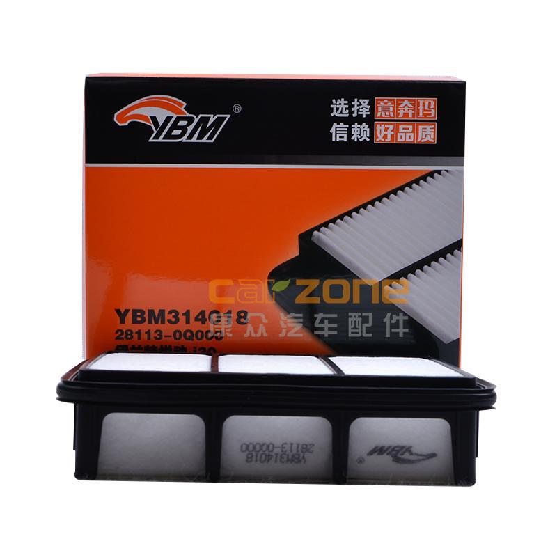 意奔玛/YBM,空气滤清器,现代i301.6,现代伊兰特1.6,现代伊兰特1.8