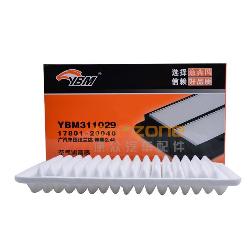 意奔玛/YBM,空气滤清器,丰田Camry[佳美]2.4,丰田汉兰达2.7,丰田汉兰达3.5