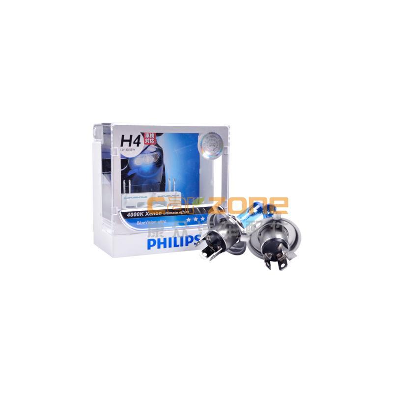 飛利浦/PHILIPS,燈泡 H4藍星之光,