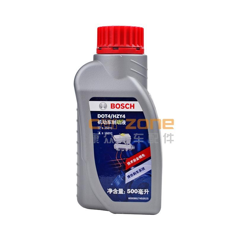 博世/BOSCH,DOT4刹车油-500ML,