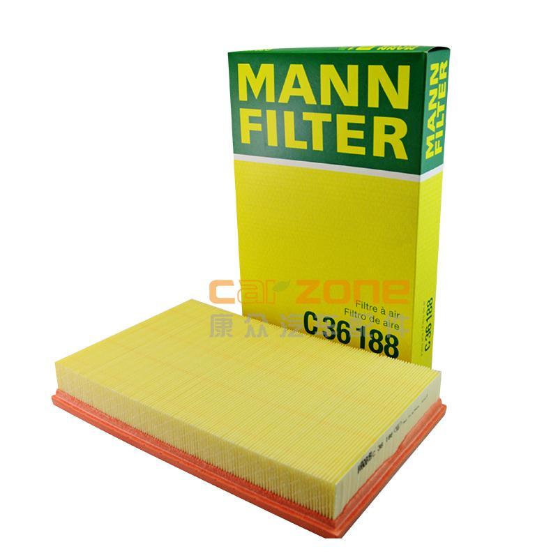 曼.胡默尔/MANN HUMMEL,空气滤清器,大众CC3.0,大众CC3.6,大众Magotan[迈腾]3.2,大众帕萨特3.0,大众迈腾3.0,奥迪TT3.2