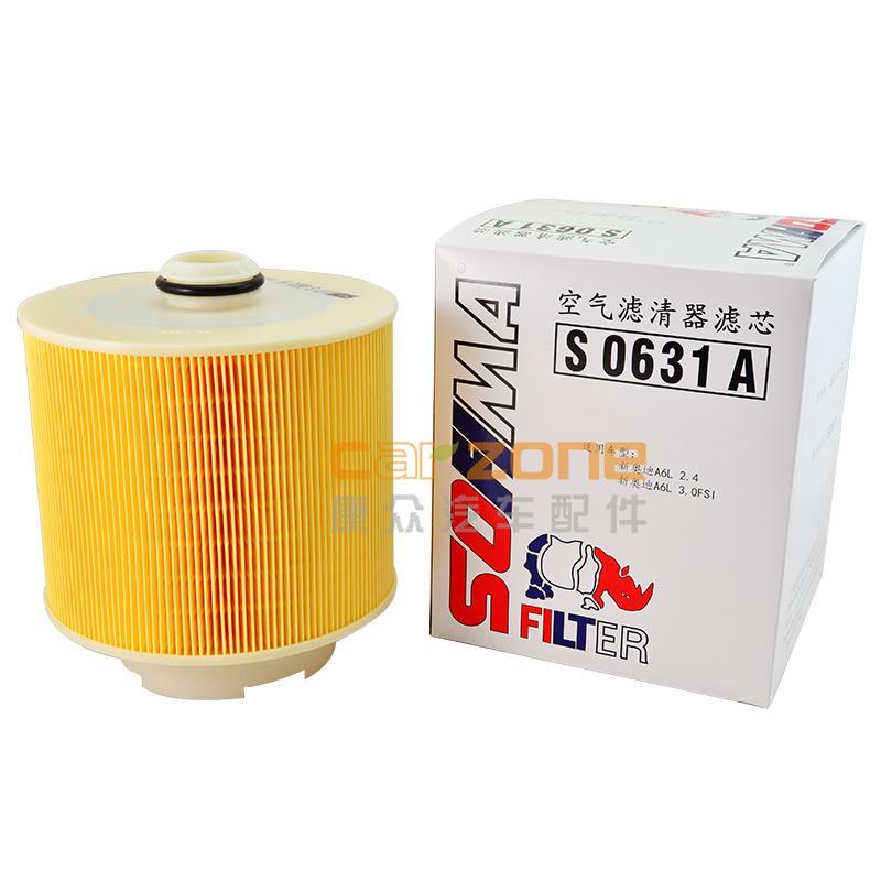 索菲玛/SOFIMA,空气滤清器,奥迪A62.4,奥迪A62.8,奥迪A63.0,奥迪A63.2,奥迪A64.2
